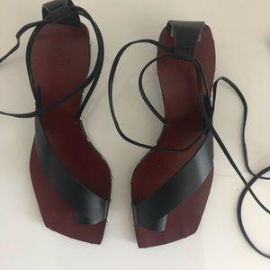H&M studio collection sandals